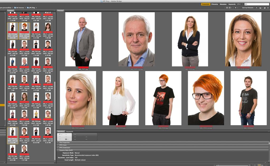 Fotograf Markus P i Örebro - Personalfotografering hos Sigma i Örebro