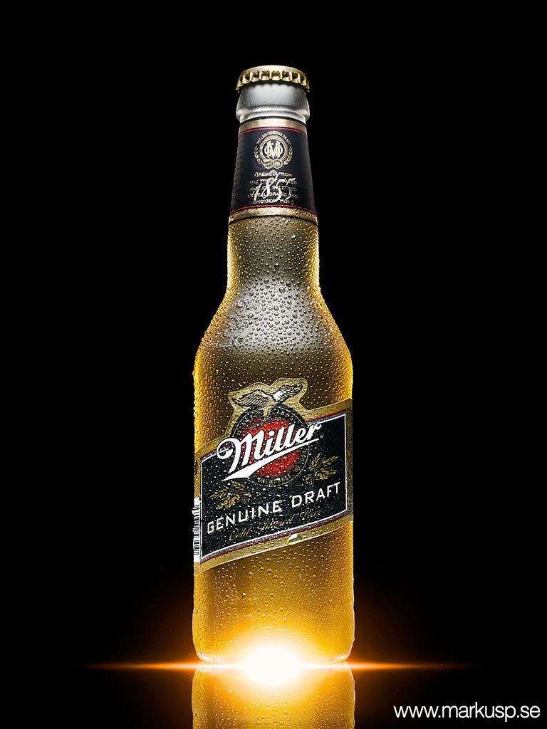 Miller ölflaska