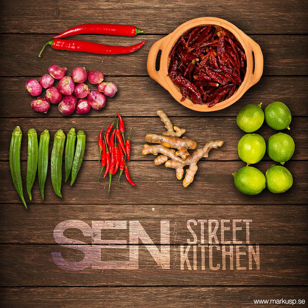 Mat från Sen Street Kitchen Örebro