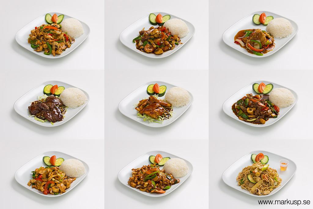 Maträtter från Spicy Hot