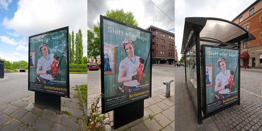 Reklambild för Krämaren. Foto: Fotograf Markus P i Örebro