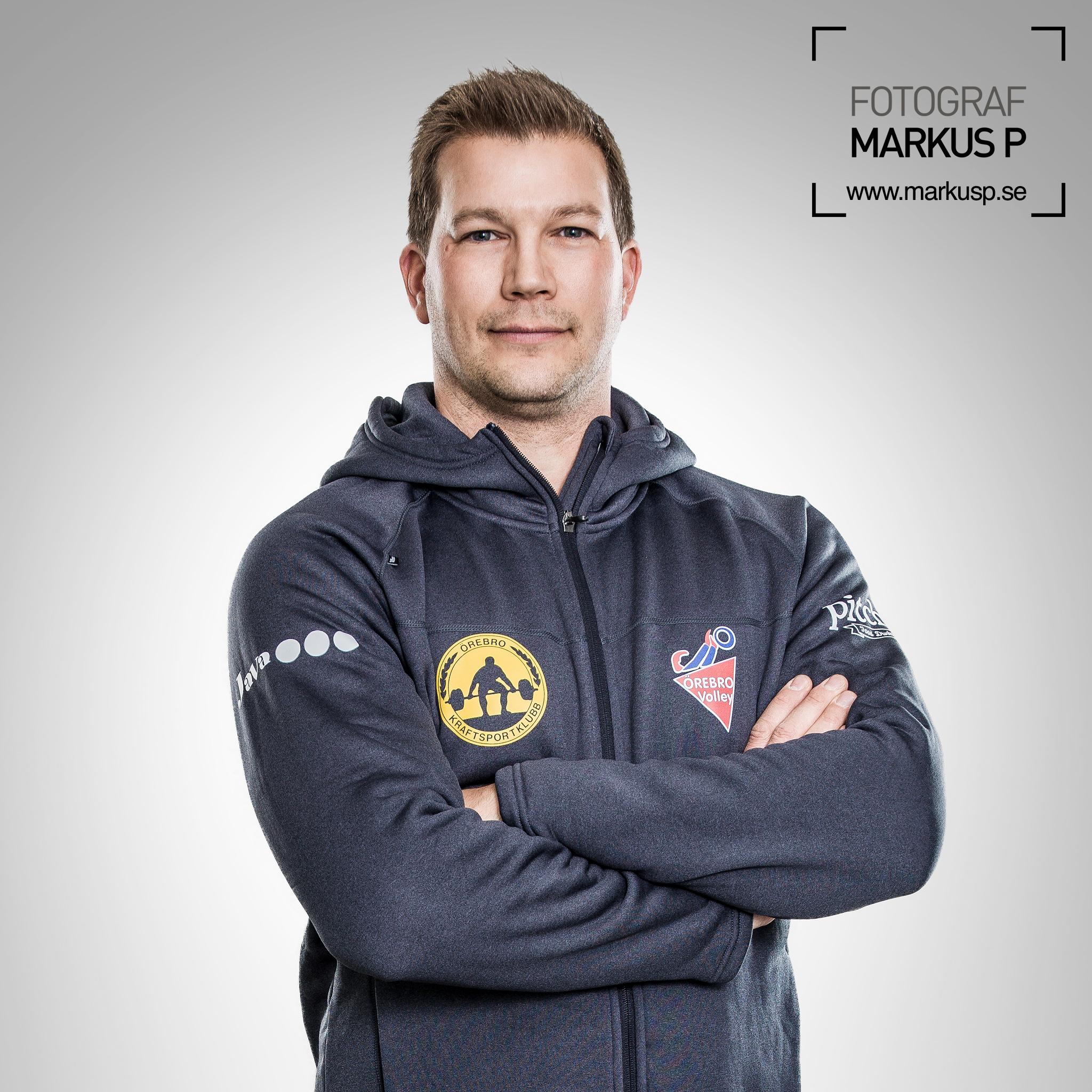 Coacher ÖKK, porträttbilder. Fotograf Markus P i Örebro.