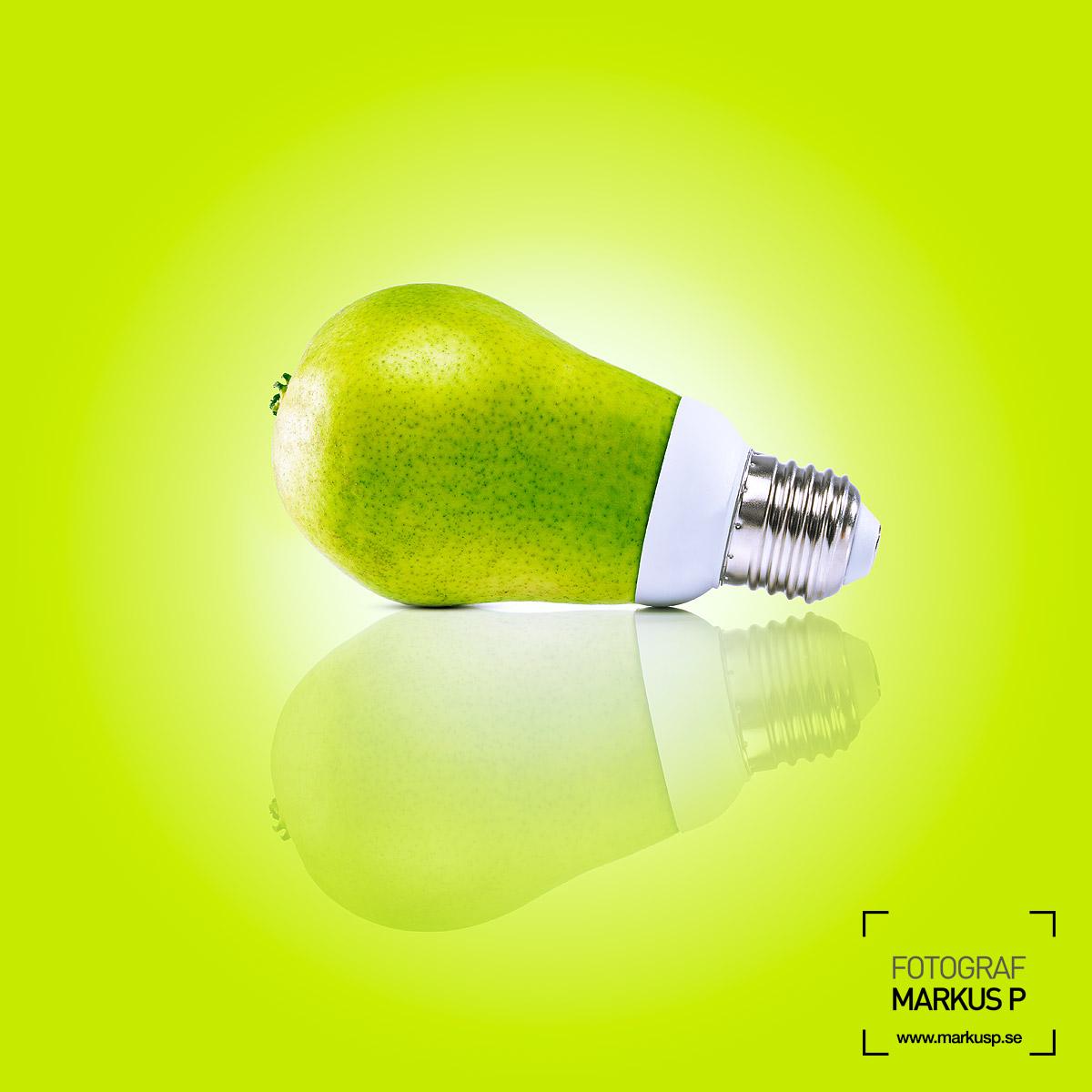 Pear lightbulb
