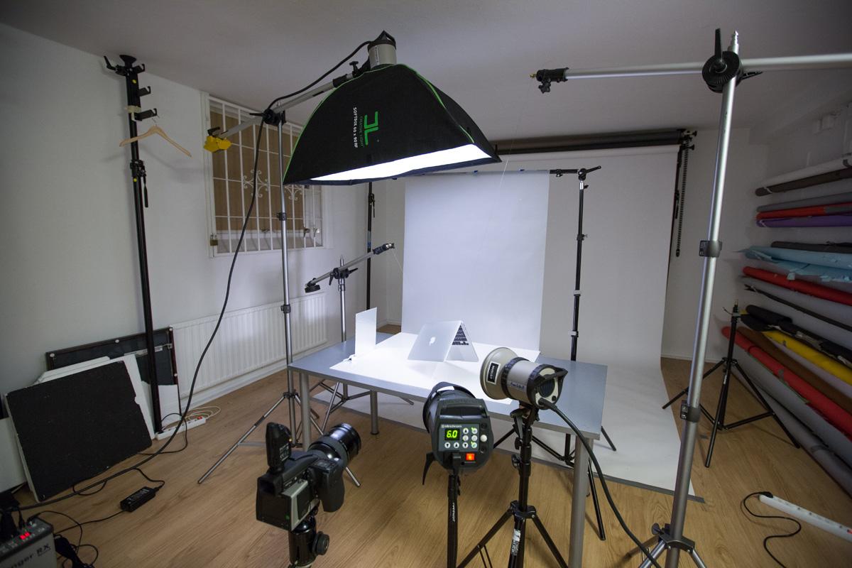 Ljussättning produktfoto studiofotografering
