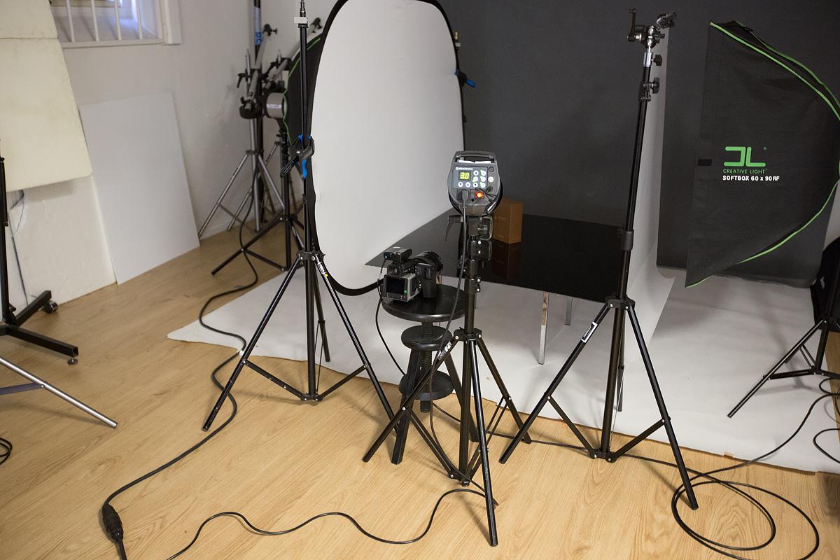 Produktfotografering ljussättning