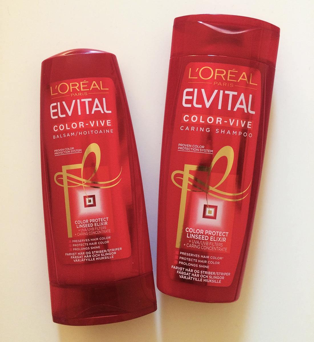 Elvital shampoo och balsam