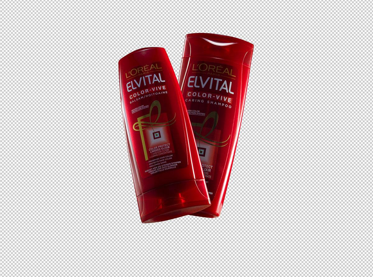 Frilagda shampooflaskor