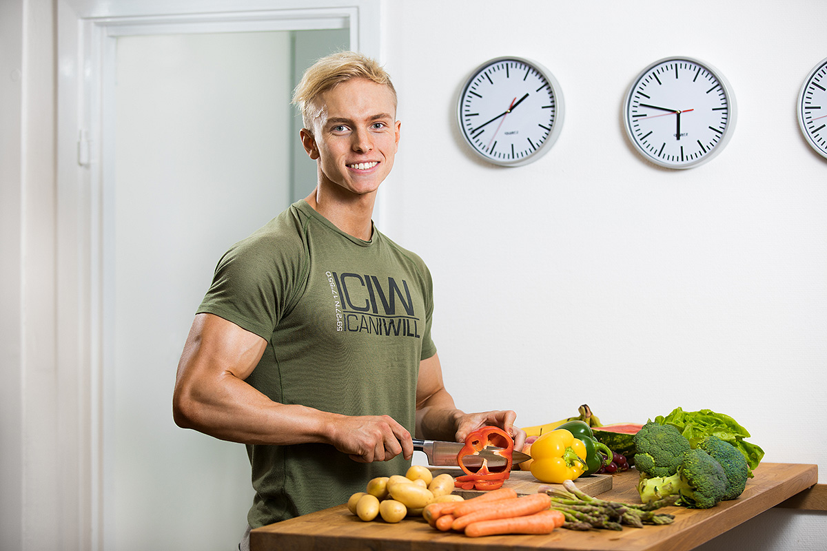 Hampus Botvid, foodprep
