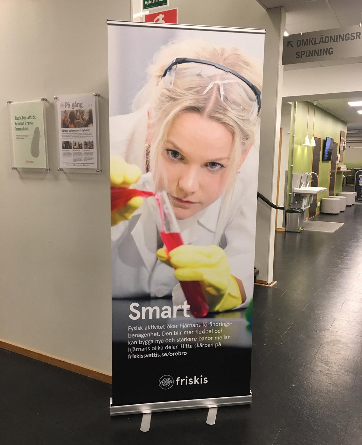 Friskis & Svettis reklamkampanj: Pigg - vi vet hur