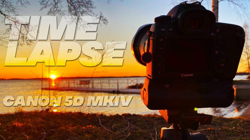 Timelapse enkelt med Canon 5D MkIV - Fotograf Markus P i Örebro
